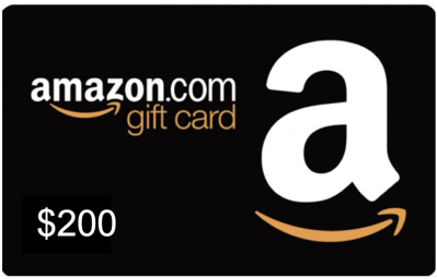 Amazon card 200